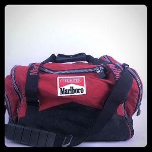 VTG 90's Marlboro Adventure Time Small Duffle Bag